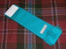 шарф 100% шерсть , расцветка Aqua Аква